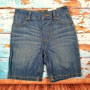 Arizona Jean company denim shorts NWT 4T